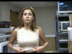 Iniciando en el porno a una venezolana amateur